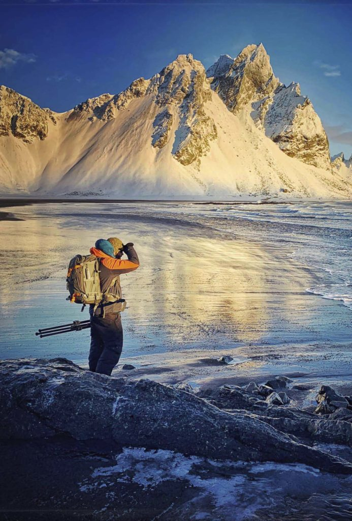 Felix Röser, Landschaftsfotografie, Island, Küste, Vestrahorn